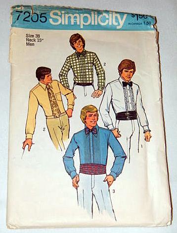1975 Simplicity Pattern