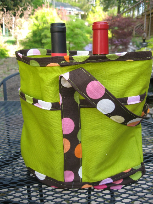 Wine Totes with Bottles