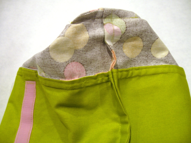 Wine Totes French Seams