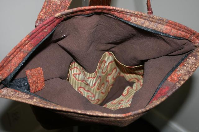 Theresa's Purse Inside
