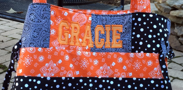 Gracie Whole Shebang Embroidery