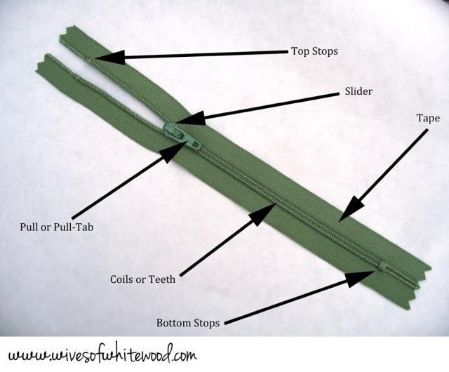 Zipper Anatomy