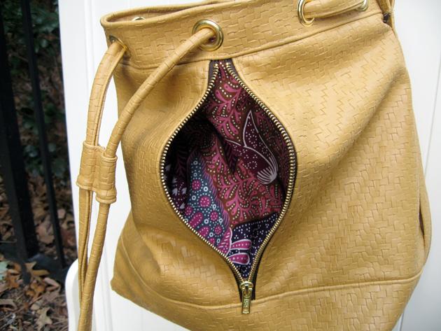 Fleather Front Pocket