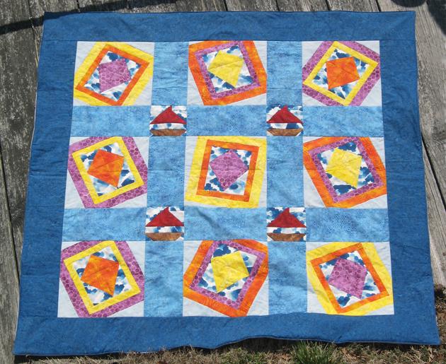 Windblown Quilt Top
