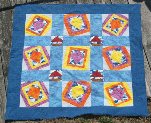Windblown Quilt Top
