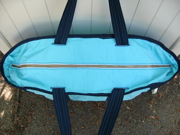 Carried Away Solid Zipper